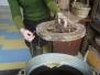 Edukacinė programa Alytaus kraštotyros muziejuje (žvakių liejimas)