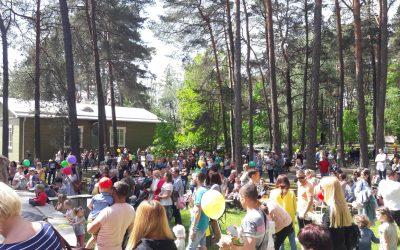 VšĮ Alytaus miesto socialinių paslaugų centro bendruomenė dalyvavo skambančiame spalvų mieste