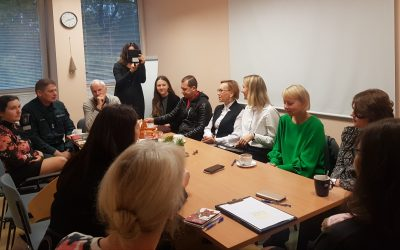VšĮ Alytaus miesto socialinių paslaugų centre vyko tarp institucinis susitikimas