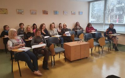 Susitikimas su su psichologe-psichoterapeute Gintare Jurkevičiene