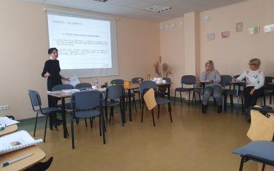 Pozityvūs mokymai su lektore Lolita Kuginiene