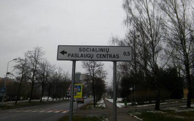 VšĮ Alytaus miesto socialinių paslaugų centrą surasti bus lengviau