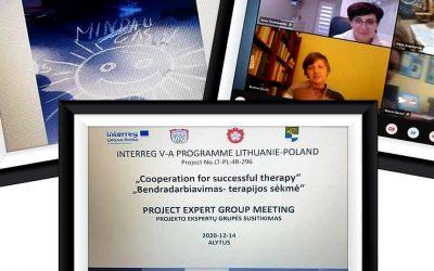 Bendradarbiavimas – terapijos sėkmė